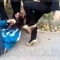 Clip: Nữ sinh Phú Thọ đánh nhau bằng giày cao gót