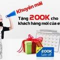 Dùng mã 2dd1b8 để tiết kiệm 200k nếu bạn là khách hàng mới của eBay Vietnam