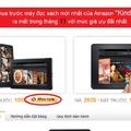 Kindle Fire, giá chỉ 260$ anh em quan tâm thì ủng hộ eBay nhé