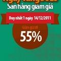 Ngày vàng SOLO giảm giá lên đến 55%