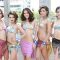 Thí sinh Hoa hậu Thái Lan khoe dáng với bikini, ôi ngon