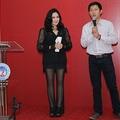 Thanh Lam mặc đồ xuyên thấu kêu gọi bảo vệ môi trường