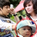Vợ và Con trai Ngô Kiến Huy