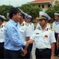 Bộ trưởng Đinh La Thăng kiểm tra an toàn hàng hải ở Trường Sa