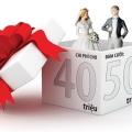 """Tiền mừng đám cưới bao nhiêu là đủ? (Đám cưới liệu có """"lãi""""?)"""