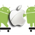 Thị phần Android đã gấp 4 lần so với iOS
