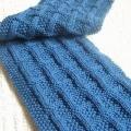 Hướng dẫn cách đan khăn len kiểu ô vuông