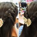 """Làm nơ cài tóc cho các chị em :"""">"""