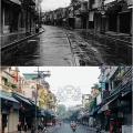 Chùm ảnh độc: Hà Nội sau 60 năm, ngày ấy - bây giờ