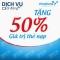 Vinaphone khuyến mãi 50% giá trị thẻ nạp ngày 30/01/2015