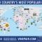 Bản đồ bia thế giới theo từng quốc gia