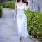 Mỹ nhân Việt chạy theo mốt mặc 'cây trắng'