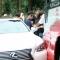 Quang Lê lái xe tiền tỷ gây tai nạn tại Sapa