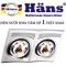 Đèn sưởi nhà tắm Hans 2 bóng (H2B) là một sản phẩm đèn sưởi nhà tắm cao cấp được nhập khẩu trực tiếp từ CHLB Đức