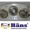 Đèn sưởi nhà tắm Hans 3 bóng (H3B)