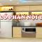 Tủ bếp laminate của Việt Hưng mẫu mã đẹp, độ bền cao