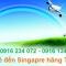 Vé máy bay giá rẻ đi Singapore hãng Tiger Air - vé máy bay Tiger Air đi Singapore