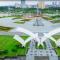 Biểu tượng hòa bình của Hà Nội đẹp ngỡ ngàng nhìn từ trên cao