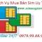 Thu mua sim số đẹp, sim VIP giá cao tại Hà Nội - Tphcm