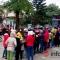 Thanh Hóa: Công nhân ngủ gần một ngày ở cây ATM để rút tiền Tết