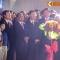 khai mạc đường hoa Nguyễn Huệ :  tân Bí thư Thành uỷ Đinh La Thăng và Chủ tịch nước Trương Tấn Sang hân hoan đến dự