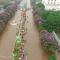 """Hà Nội sáng 25/5: """"Sông"""" nước và xe nhìn từ trên cao"""