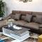 Ghế sofa hiện đại bọc da cao cấp