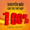 Vietnamobile khuyến mãi 100% thẻ nạp ngày 30-31/7/2016