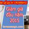 Khuyến mãi sàn gỗ đầu năm mới 2015