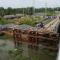 Tháo dỡ cầu không rào chắn, cô gái 18 tuổi rơi xuống sông mất tích ở Long an