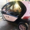 Ôtô điện 3 bánh mini Trung Quốc 70 triệu gây sốt Hà nội