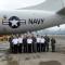 Đoàn Hải quân VN trên máy bay săn ngầm P-3 Hải quân Mỹ