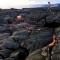 Ngỡ ngàng thác dung nham nóng chảy từ núi lửa Mỹ