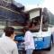 Xe khách được dìu ở đèo Bảo Lộc bị phạt hơn 10 triệu: không giấy phép kinh doanh, không hộp đen và camera giám sát hành trình,