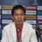 HLV Hoàng Anh Tuấn cố trấn tĩnh: 'Tôi biết nói gì đây khi đã quá hạnh phúc'