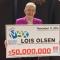 Cụ bà Canada 80 tuổi bối rối khi trúng số gần 38 triệu USD