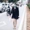 Ôtô, xe máy, thiếu nữ tranh đường buýt nhanh BRT | Vietnam+ (VietnamPlus)