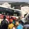 Clip hơn 1 giờ giải cứu hành khách vụ xe Thành Bưởi và Phương Trang tông nhau