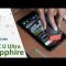 Thử độ bền của HTC U Ultra Sapphire:  kéo, dao, chà nhám, đá , dũa móng tay quá nhỏ bé và  vô dụng