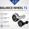 Xe điều khiển bằng chân 6.5 Inch Bluetooth Speaker 4 LED 7 màu lựa chọn Xe điện cân bằng