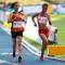 VĐV Malaysia chạy ở môn đi bộ, Việt Nam mất HC vàng