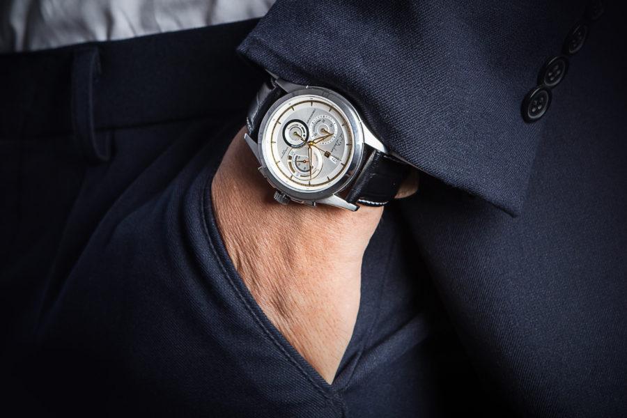 đồng hồ đeo tay dây da cao cấp