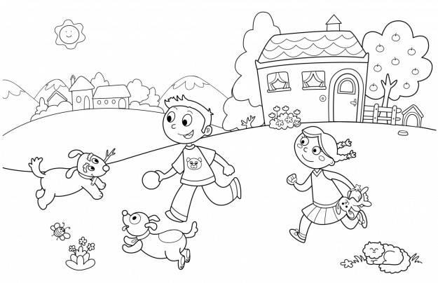 Image result for Tranh tô màu cho bé 5 tuổi
