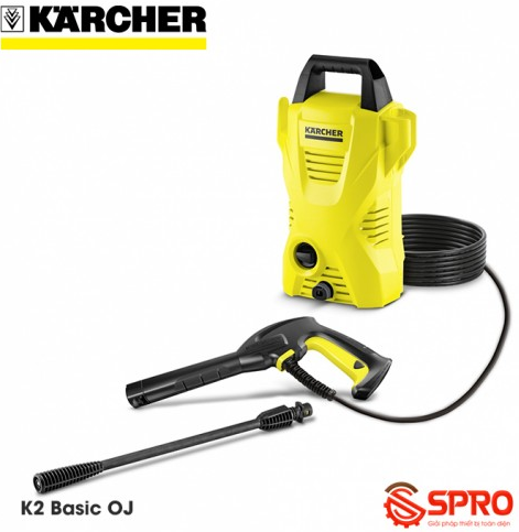 Giới thiệu máy rửa xe gia đình Karcher KARCHER K2 Basic Oj xuất xứ Đức