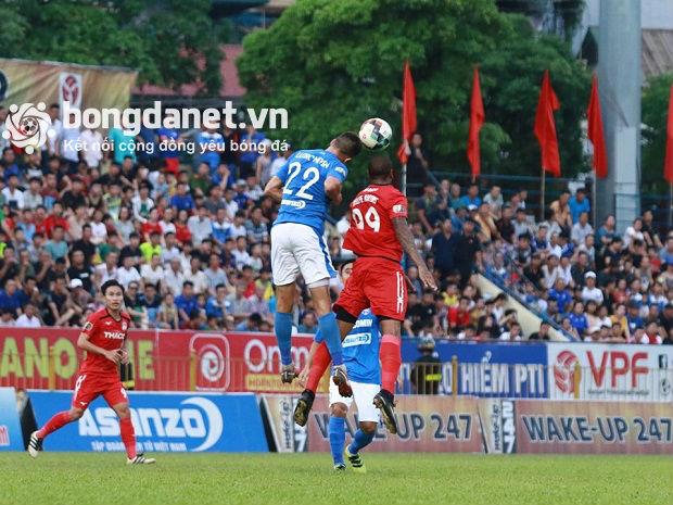 Dyachenko và Hải Huy giành lại vị trí thứ 3 cho đội chủ nhà